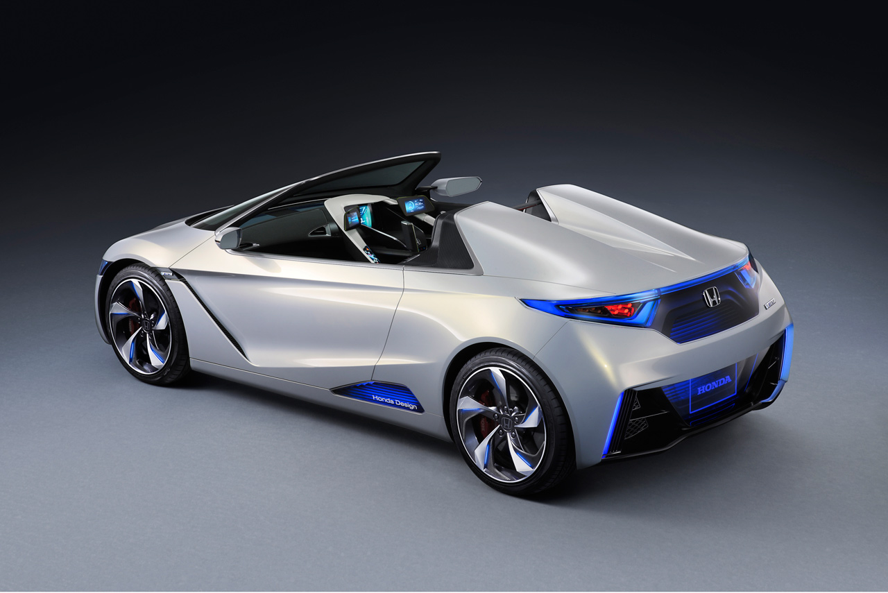 honda ev ster elektro cabrio ab 2012 alternativantriebe. Black Bedroom Furniture Sets. Home Design Ideas