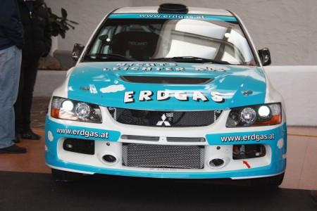 Erdgas Mitsubishi Lancer Evo Rallyeauto