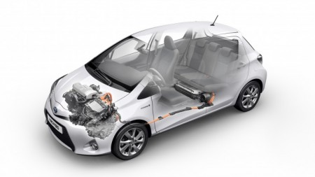 Toyota Yaris Hybrid mit intelligenten Packaging