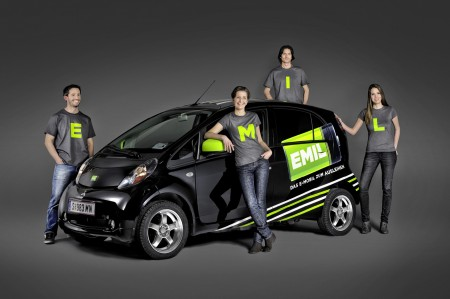 Emil Elektroauto Car Sharing