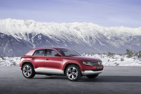 VW Studie Cross Coupe Hybrid