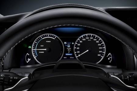 Lexus GS 450h Fahrmodi Armaturen