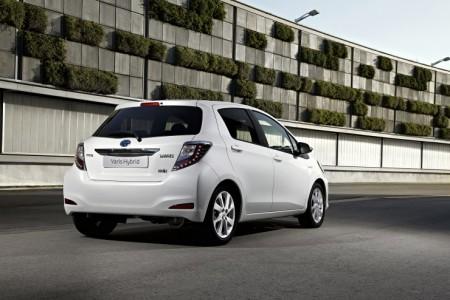 Toyota Yaris Hybrid Heck