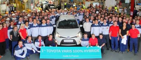 Toyota Yaris Hybrid Valenciennes