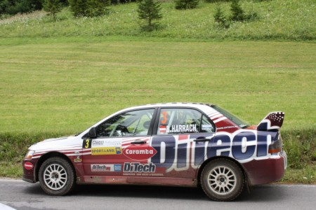DiTech Racing Schneeberglandrallye 2010 Harrach