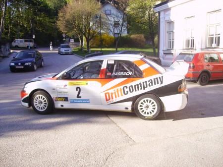 Mitsubishi Drift Company Triestingtalrallye 09