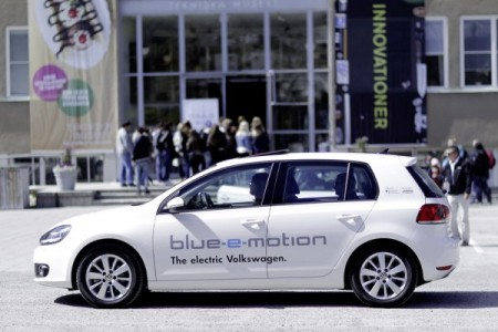 VW Golf Blue Motion electric drive