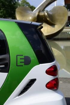 smart ed grün weiss