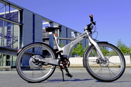 smart ebike anthrazit