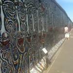 Berliner Mauer Graffiti Ost West Deutschland Grenze