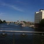 Berlin Oberbaumbrücke Spree