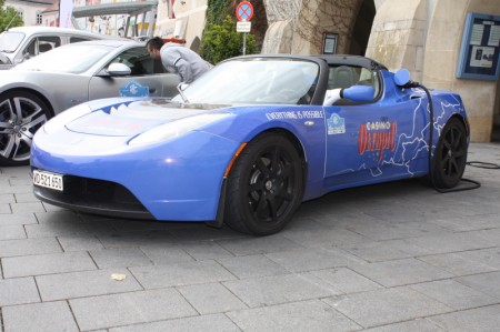 Electric Marathon Tesla Roadster