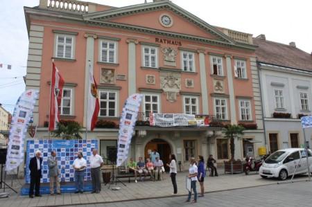 Electric Marathon Rathaus Wiener Neustadt