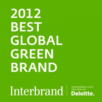 Logo Best Global Green Brands Interbrand Toyota