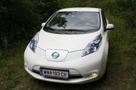 Nissan Leaf Frontpartie