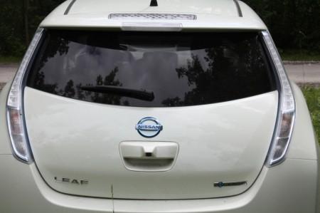 Nissan Leaf Heckbereich