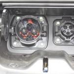 Nissan Leaf Ladebuchsen