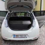 Nissan Leaf Rücksitzlehne