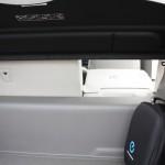 Nissan Leaf umklappbare Rückensitzlehne