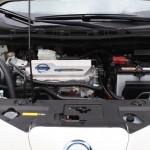 Nissan Leaf Motorraum
