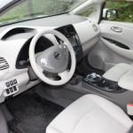 Nissan Leaf Fahrerseite Cockpit