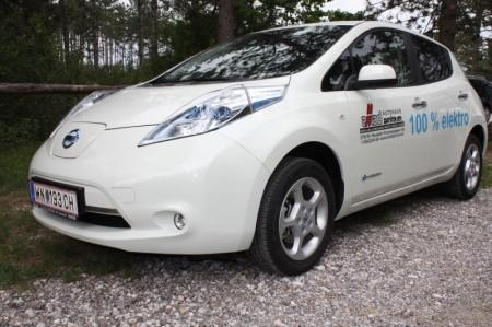Nissan Leaf Seitenansicht