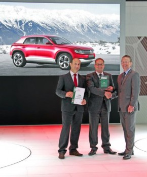 eCar Award 2012 Cross Coupé  Volkswagen