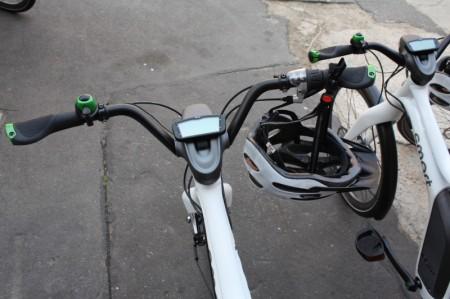 smart ebike Lenker