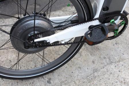 smart ebike Carbon Zahnriemen Antrieb