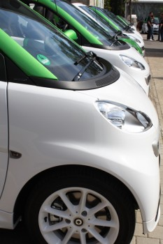 smart fortwo electric drive Reihe