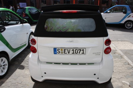 smart fortwo electric drive Platz