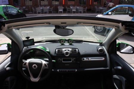 smart fortwo electric drive Armaturenbrett