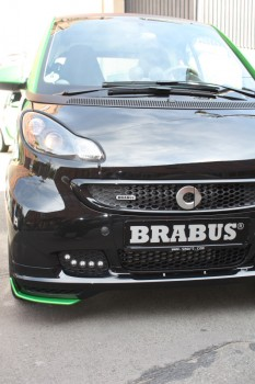 smart fortwo brabus electric drive bodykit