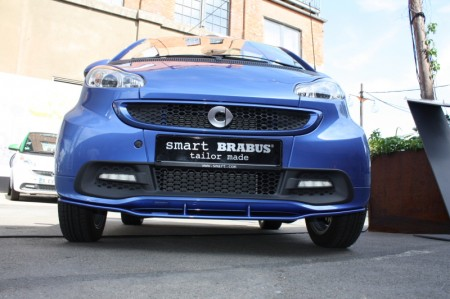 smart fortwo electric drive brabus tailor made Front