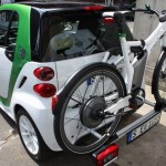 smart fortwo electric drive Fahrradträger ebike