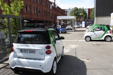 smart fortwo electric drive Gelände