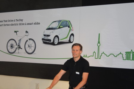 smart fortwo electric drive Hülder Martin Leiter smart Vertrieb