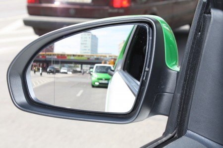 smart fortwo electric drive Außen Rückspiegel