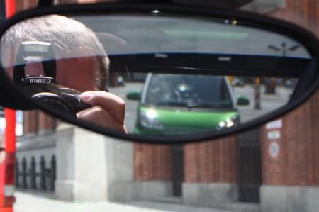 smart fortwo electric drive Innen Rückspiegel