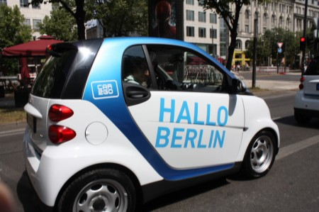 smart fortwo car2go Berlin