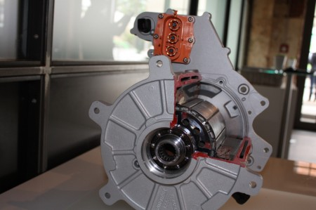 smart fortwo electric drive E Motor