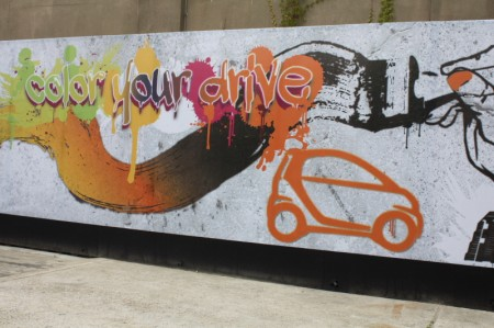 smart fortwo electric drive color graffiti