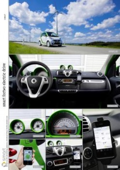 smart fortwo electric drive bilder