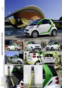 smart fortwo electric drive fotos