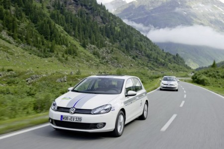VW Golf BlueMotion Silvretta Classic E-Rallye