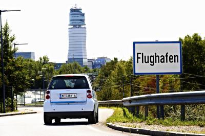 car2go Flughafen Wien Schwechat