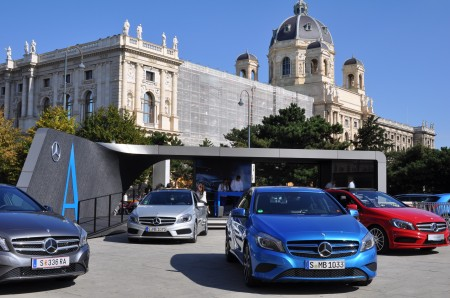 Mercedes-Benz A-Klasse @ MQ Fashion Week Wien