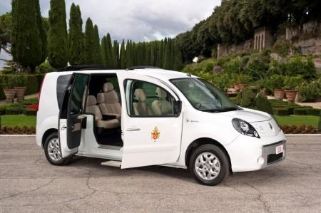 Renault Kangoo Maxi Z.E. Elektroauto von Papst Benedikt XVI