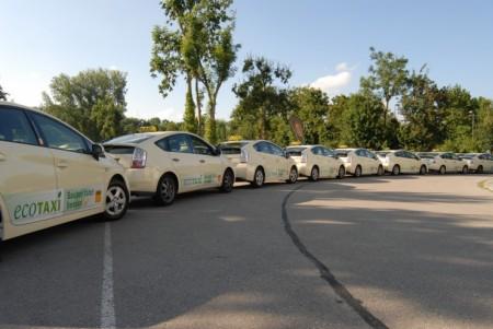 Toyota Umwelt eco Taxi