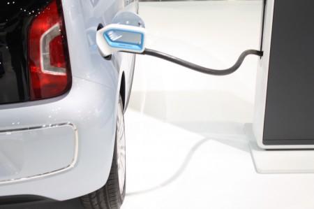 Vienna Autoshow 2013 Volkswagen VW e-up! Ladung